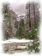 Yosemite Falls Metal Prints - Wonderland Metal Print by Heidi Smith