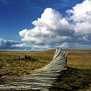 Great Outdoors Photos - Wooden posts by Bernard Jaubert