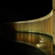 High Prints - World War II Memorial - Stars Print by Metro DC Photography