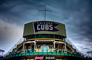 Friendly Confines Prints - Wrigley Field Bleachers Print by Anthony Doudt