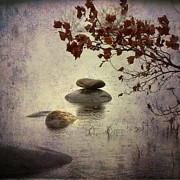 Deserted Photos - Zen Stones by Joana Kruse
