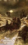 Carriage Road Photos - American Christmas Card by Granger
