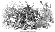 Bayonet Prints - France: Revolution Of 1848 Print by Granger