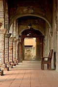 Abstract Landscape Art - Mission San Juan Capistrano by Brad Scott