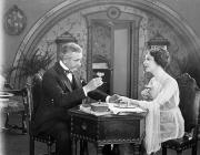 Champagne Photos - Silent Film Still: Drinking by Granger