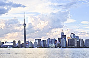 Architecture Framed Prints - Toronto skyline Framed Print by Elena Elisseeva