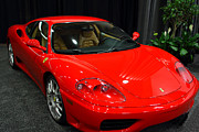 2000 Ferrari 360 Modena F1 . 7d9381 Print by Wingsdomain Art and Photography
