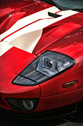 Aluminum Digital Art Originals - 2004 Ford GT by Gordon Dean II