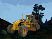 For Contractors Paintings - 2006 Caterpillar 12H VHP Plus Motor Grader by Brad Burns