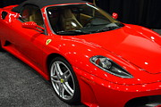 Wingsdomain Posters - 2006 Ferrari F430 Spider . 7D9385 Poster by Wingsdomain Art and Photography