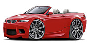 Maddmax - 2008-11 BMW e93 M3 Red...