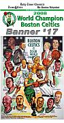 Champions Drawings Framed Prints - 2008 Boston Celtics Team Poster Framed Print by Dave Olsen