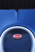 Car Detail Prints - 2008 Bugatti Veyron Hood Ornament Print by Jill Reger