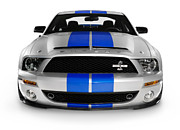 Ford Mustang Racing Prints - 2008 Shelby Ford GT500KR Print by Oleksiy Maksymenko