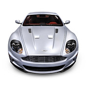2009 Prints - 2009 Aston Martin DBS Print by Oleksiy Maksymenko