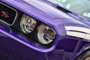 Purple Artwork Posters - 2011 Dodge Challenger RT Poster by Gordon Dean II