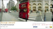 Bus Photo Originals - 2011 Epson Pano Awards  - Kensington Bus  Bronze Medal by Jan Faul