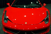 Italian Classic Cars Photos - 2011 Ferrari 458 Italia . 7D9396 by Wingsdomain Art and Photography