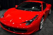 2011 Ferrari 458 Italia . 7d9397 Print by Wingsdomain Art and Photography