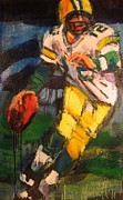 Quarterbacks Paintings - 2011 Mvp by Les Leffingwell