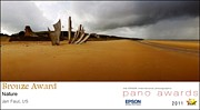 Award Photo Originals - 2011 Pano Awards Bronze Medalist - Omaha Beach by Jan Faul