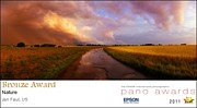 Award Photo Originals - 2011 Pano Awards Summer Storm by Jan Faul