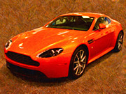 Transportation Digital Art Framed Prints - 2012 Aston Martin DB9 Framed Print by Wingsdomain Art and Photography