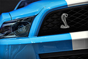 Reptiles Digital Art Originals - 2012 Ford Mustang GT 500 by Gordon Dean II