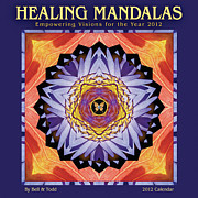 Mandala Photos - 2012 Healing Mandalas Calendar by Bell And Todd