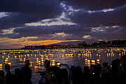 Ala Moana Metal Prints - 2012 Lantern Lighting 2 Metal Print by Eddie Freeman