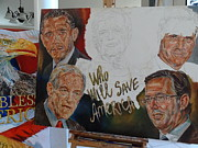 Mitt Paintings - 2012 Presidential Candidates  by Alex Krasky