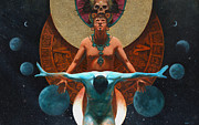 Mayan Calendar Framed Prints - 2012 Prophecy  Framed Print by Eric Wieringa