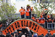 San Francisco Giant Prints - 2012 San Francisco Giants World Series Champions Parade - DPP0004 Print by Wingsdomain Art and Photography