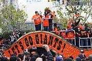 2012 San Francisco Giants World Series Champions Parade - Dpp0004 Print by Wingsdomain Art and Photography