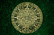 Mayan Mythology Metal Prints - 2012 The End of the World Metal Print by Ordi Calder