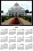Photo Calendars Framed Prints - 2013 Botanical Gardens Calendar Framed Print by Rose Santuci-Sofranko