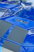 Hemi Metal Prints - 2013 Dodge RT Hemi Emblem Metal Print by Jill Reger