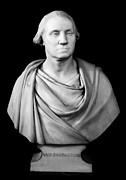 Statue Portrait Metal Prints - George Washington Metal Print by Granger