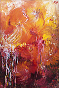 Abstract Floral Art Paintings - 207916 by Svetlana Sewell