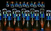 Pop Art Photo Prints - 21 Bottles of Beer Print by Vilma Rohena