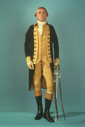 Resignation Prints - George Washington Print by Granger