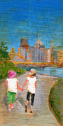 Landscapes Art Posters - RCNpaintings.com Poster by Chris N Rohrbach
