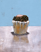 Cupcake Paintings - RCNpaintings.com by Chris N Rohrbach