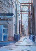 Streets Painting Originals - 216 by Jenny Armitage