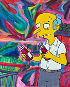 Simpsons Paintings - 22 - Ketchup Catsup by Patrick Charles