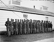 Colored Troops Photos - Civil War: Black Troops by Granger