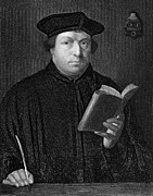 Reformer Framed Prints - Martin Luther (1483-1546) Framed Print by Granger