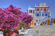 Hotel Photo Prints - Mykonos Print by Joana Kruse