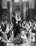 Champagne Photos - Silent Film Still: Parties by Granger