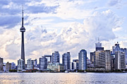 Highrise. Framed Prints - Toronto skyline Framed Print by Elena Elisseeva